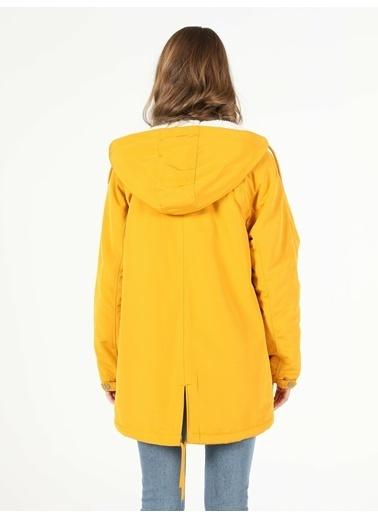 Colin's Sarı Kadın Mont Sarı